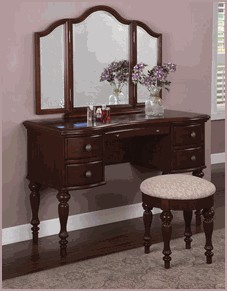 For A Women S Special Birthday The White Vanity Table